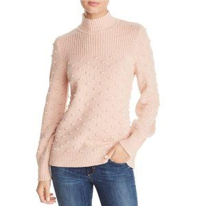 Calvin Klein Popcorn-Knit Mock-Neck Sweater